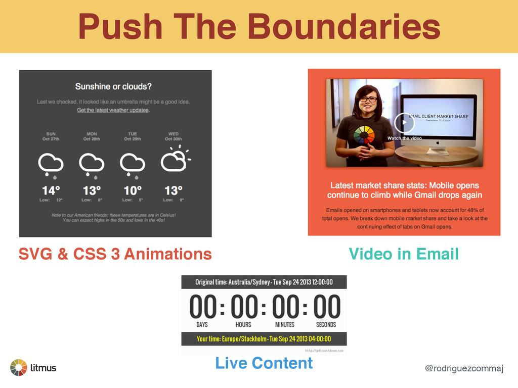 @rodriguezcommaj Push The Boundaries SVG & CSS ...