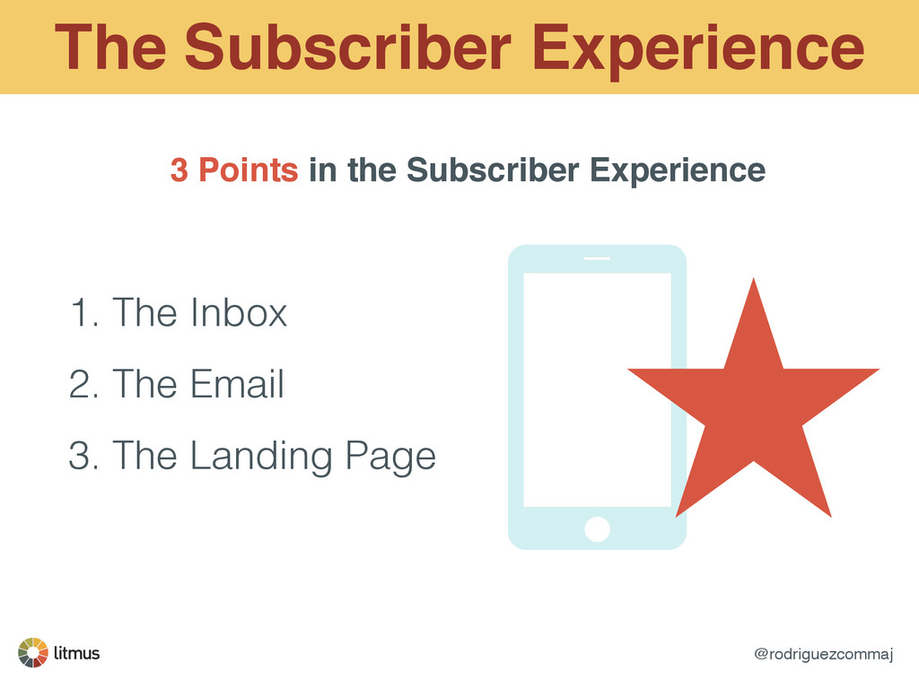 @rodriguezcommaj The Subscriber Experience 3 Po...