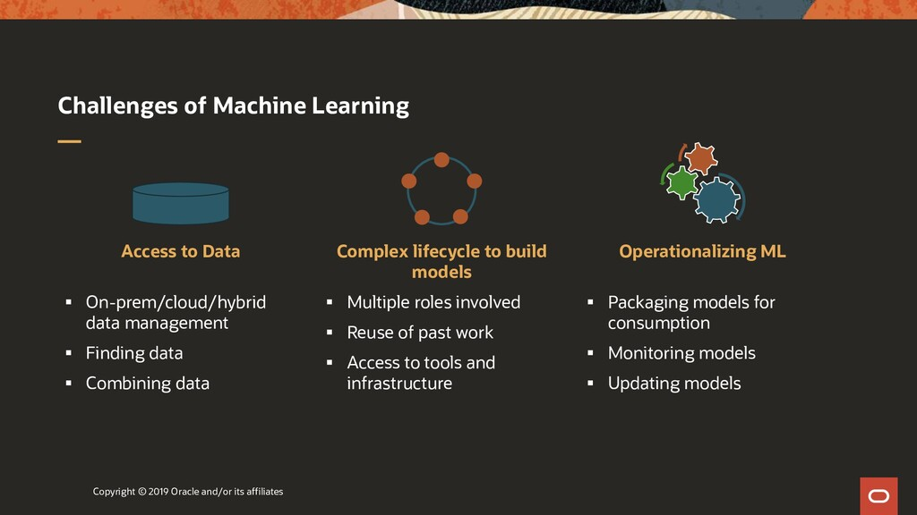 Challenges of Machine Learning Access to Data ▪...