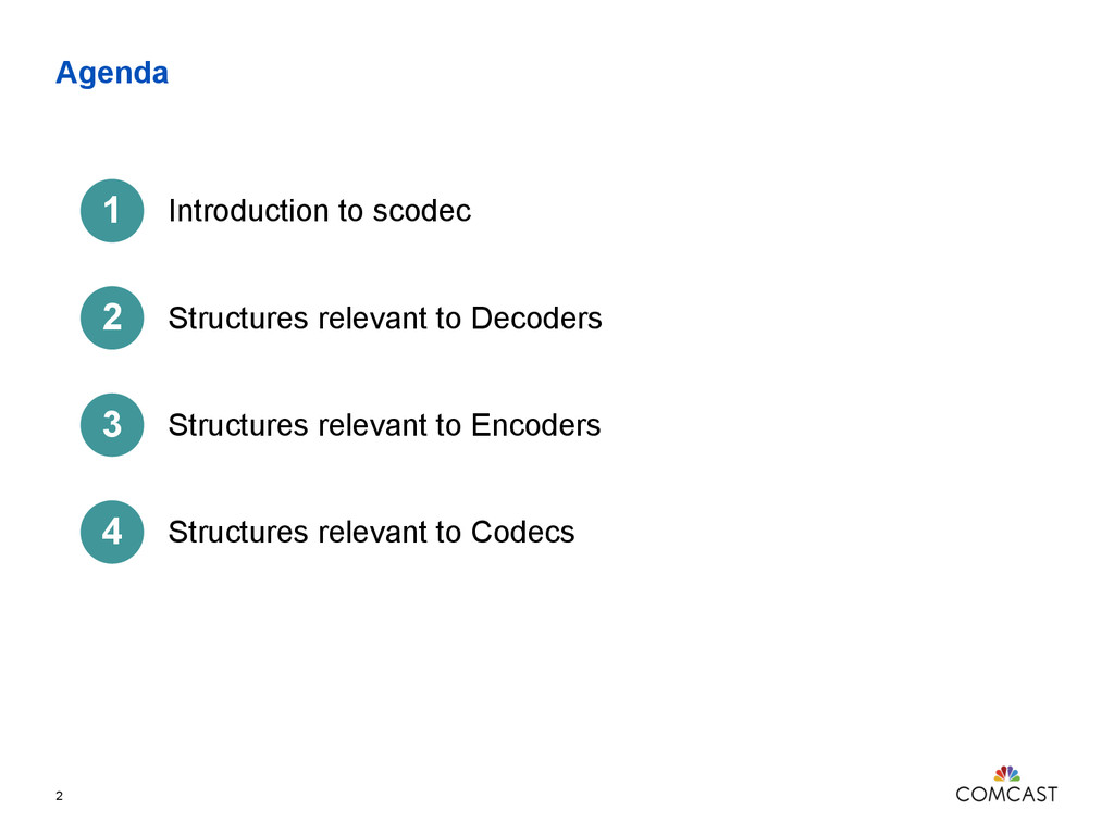 Agenda 2 Introduction to scodec Structures rele...