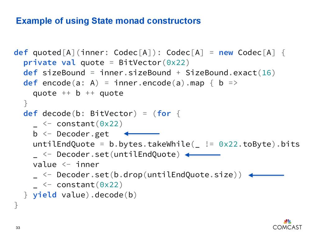 Example of using State monad constructors 33 de...