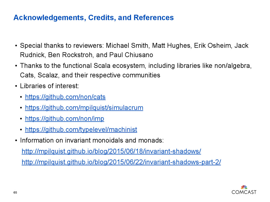 Acknowledgements, Credits, and References • Spe...