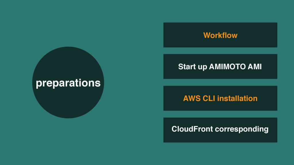 AWS CLI installation CloudFront corresponding W...