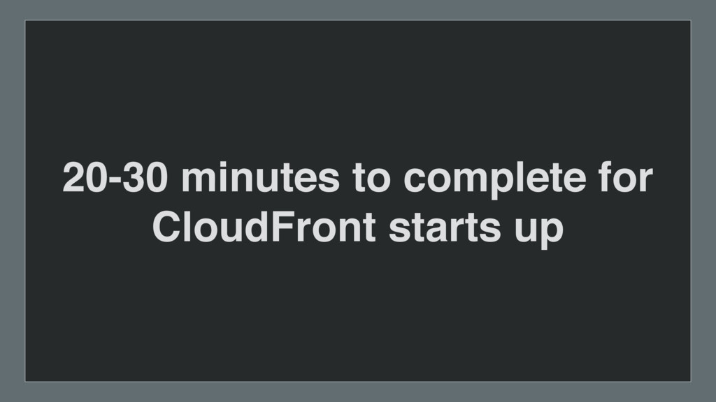 20-30 minutes to complete for 