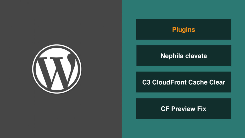 C3 CloudFront Cache Clear CF Preview Fix Plugin...
