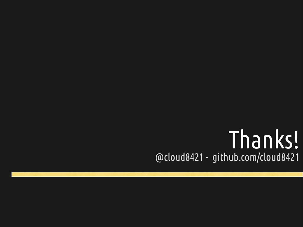 Thanks! @cloud8421 - github.com/cloud8421