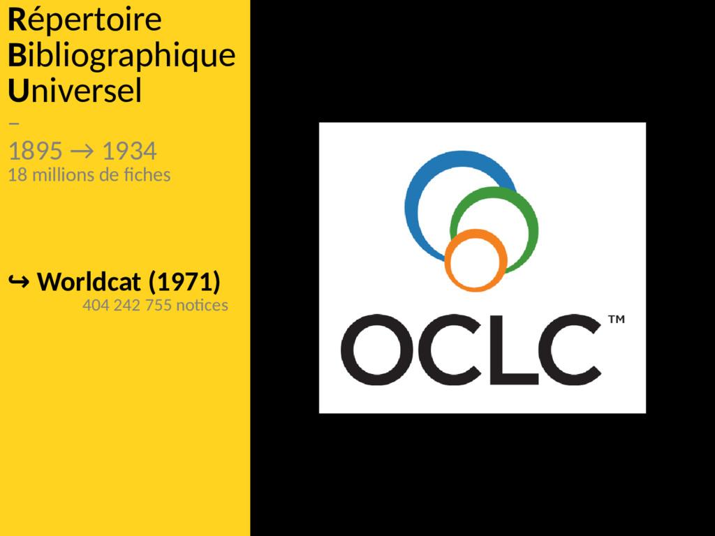 Répertoire Bibliographique Universel – 1895 → 1...