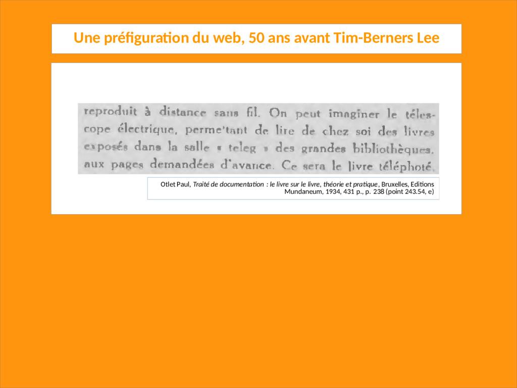 Une préfiguration du web, 50 ans avant Tim-Bern...