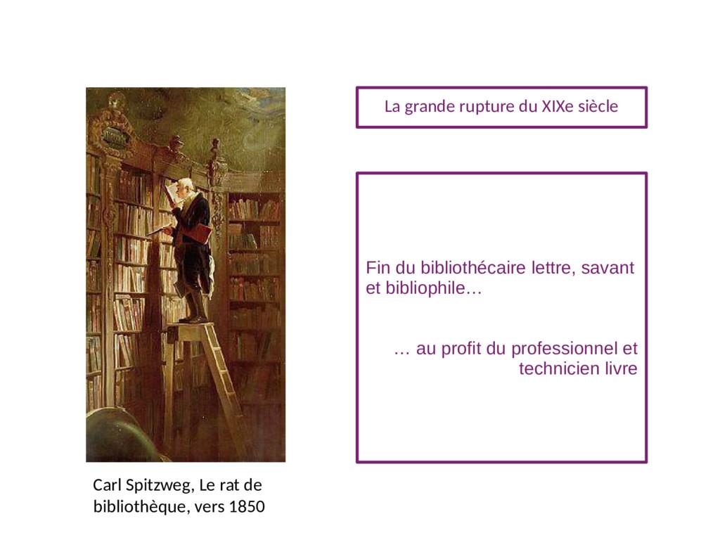 Carl Spitzweg, Le rat de bibliothèque, vers 185...