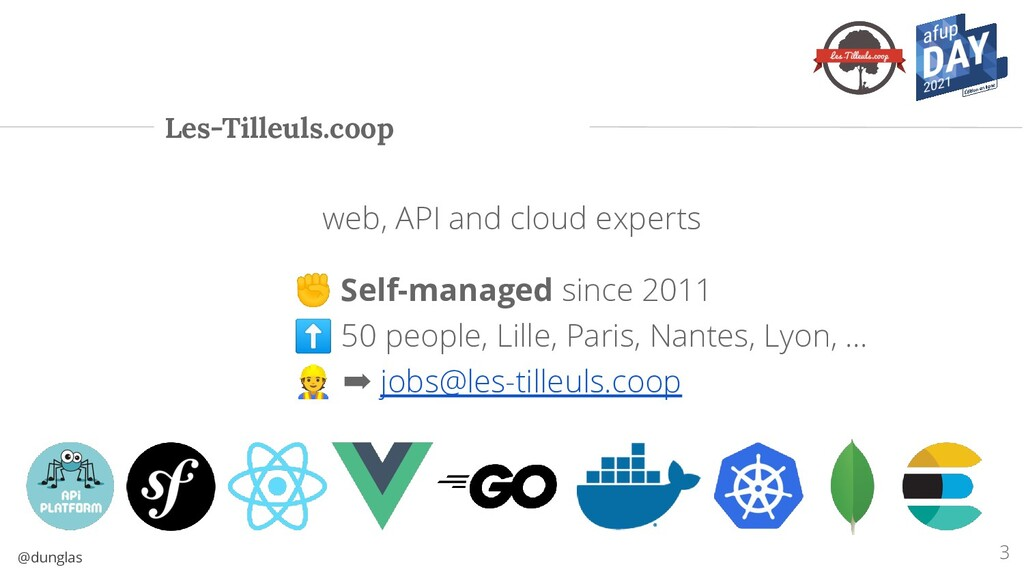 @dunglas web, API and cloud experts ✊ Self-mana...