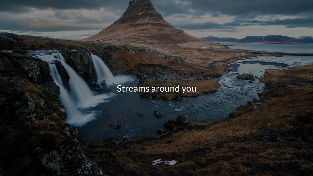 Streams around you
