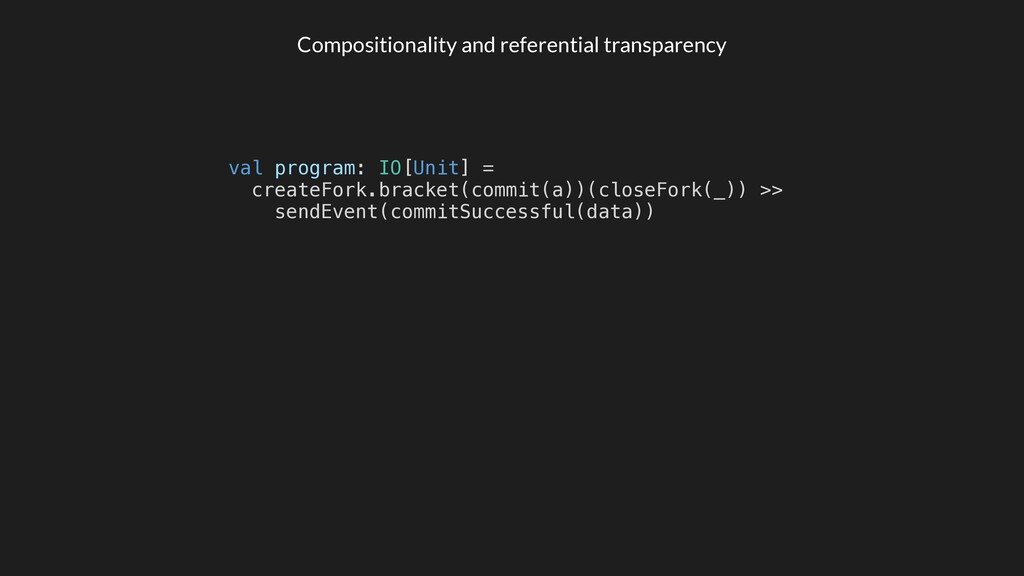 Compositionality and referential transparency v...