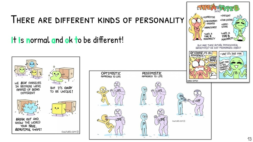 There are different kinds of personality It is ...