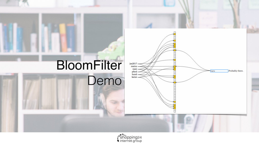BloomFilter Demo