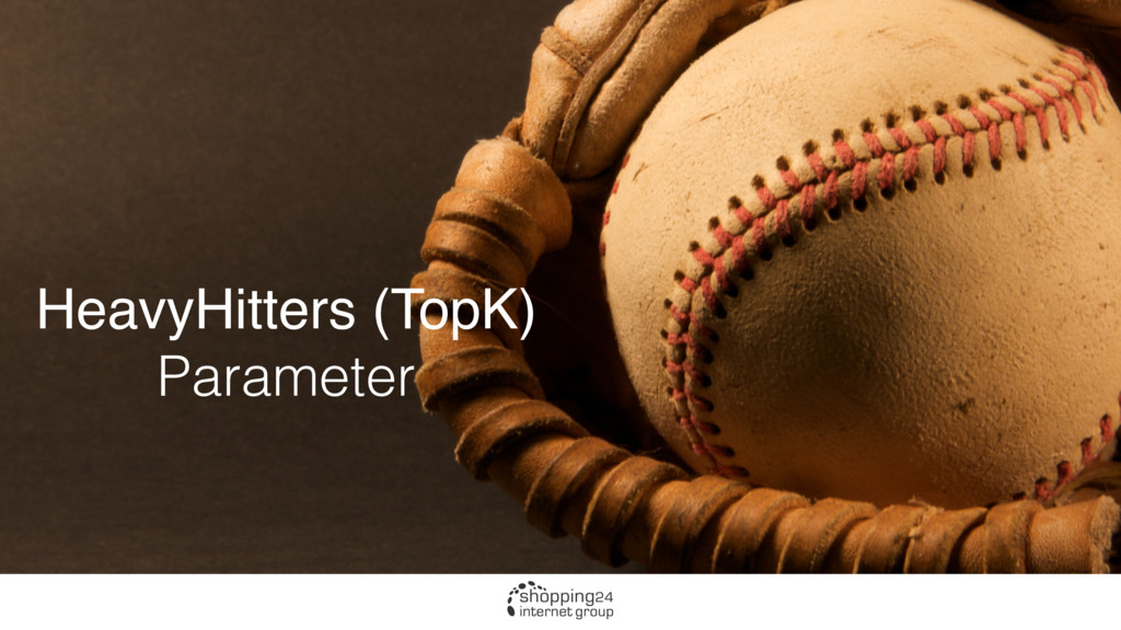 HeavyHitters (TopK) Parameter