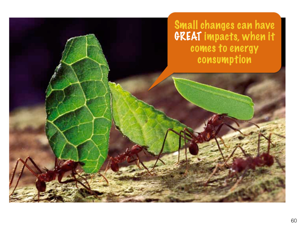60 Small changes can have GREAT impacts, when i...