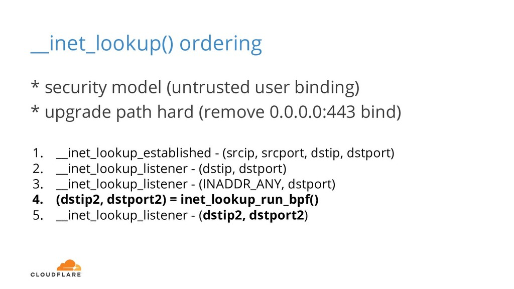 __inet_lookup() ordering 1. __inet_lookup_estab...
