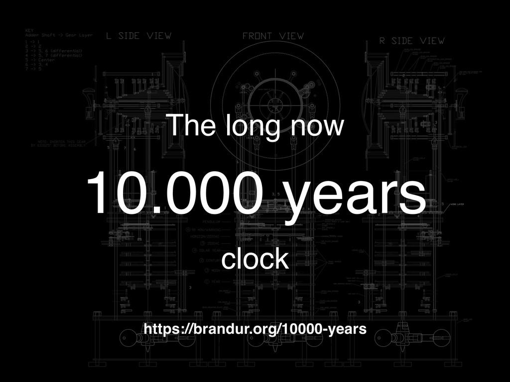 The long now 10.000 years clock https://brandur...
