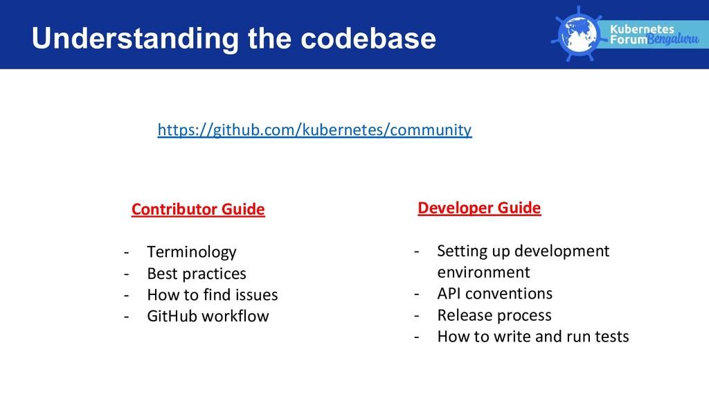 Understanding the codebase https://github.com/k...