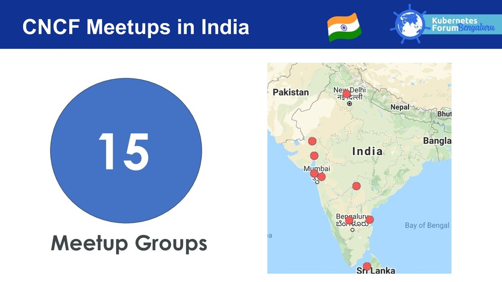 CNCF Meetups in India Meetup Groups 15