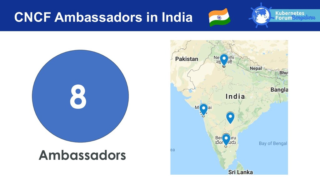 CNCF Ambassadors in India Ambassadors 8