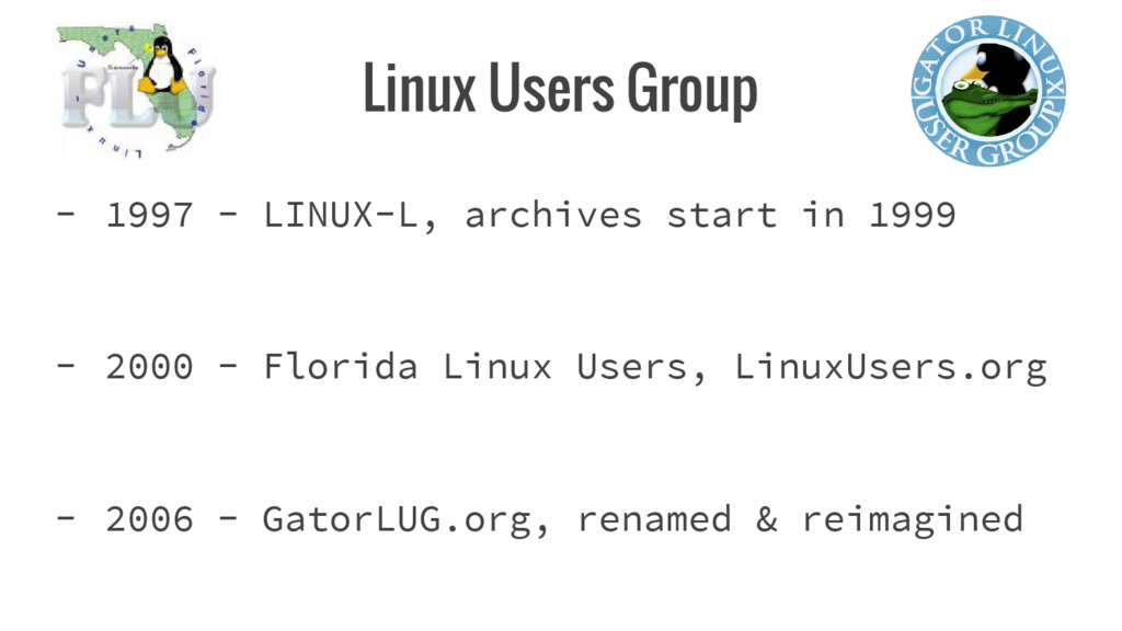 Linux Users Group - 1997 - LINUX-L, archives st...