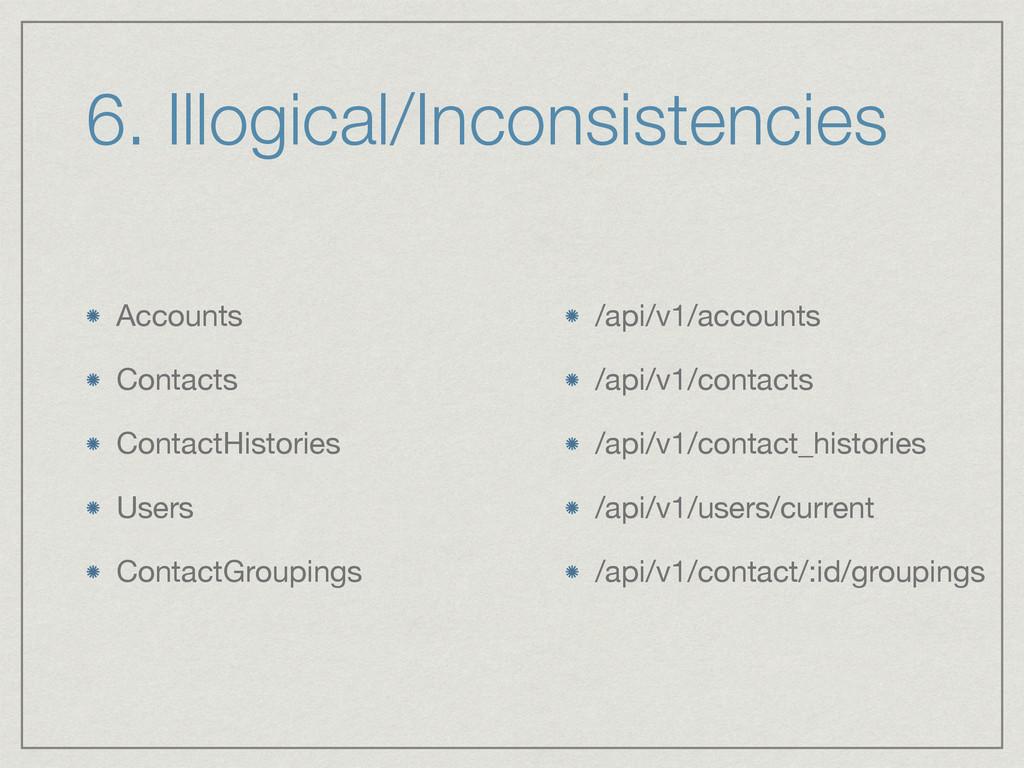 Accounts  Contacts  ContactHistories  Users  Co...