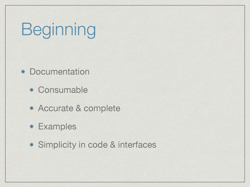 Beginning Documentation  Consumable  Accurate &...