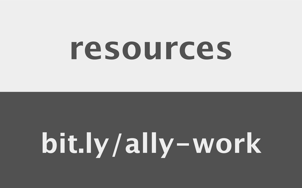 resources bit.ly/ally-work