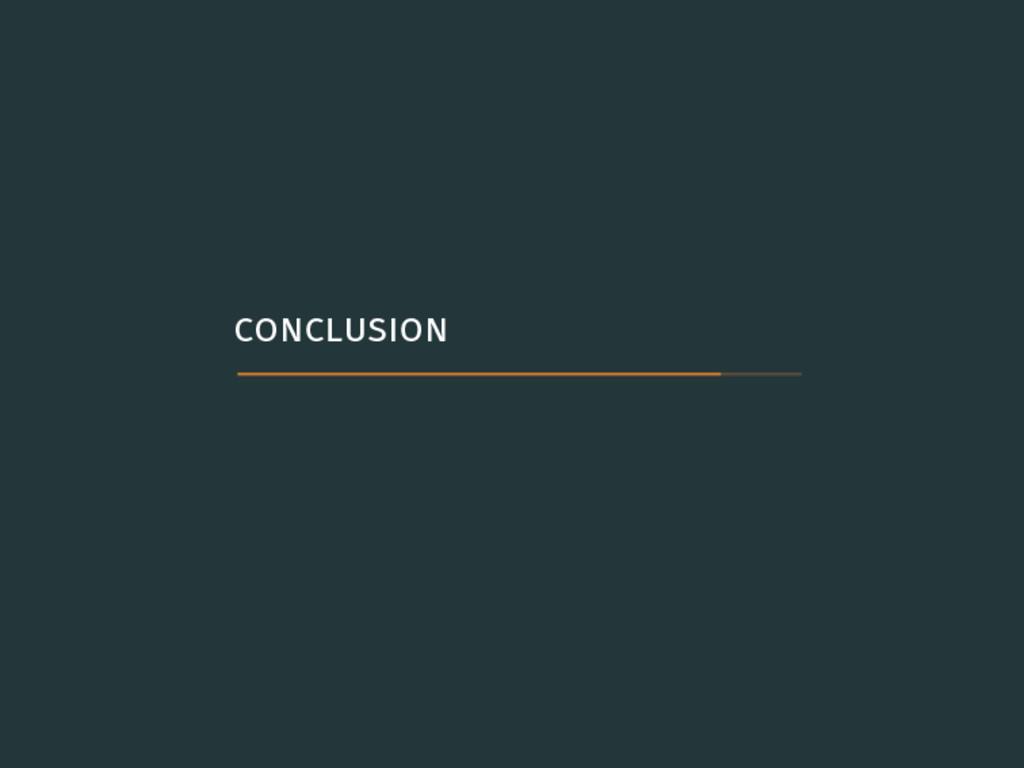 . .conclusion