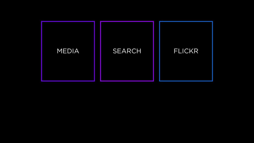 MEDIA SEARCH FLICKR