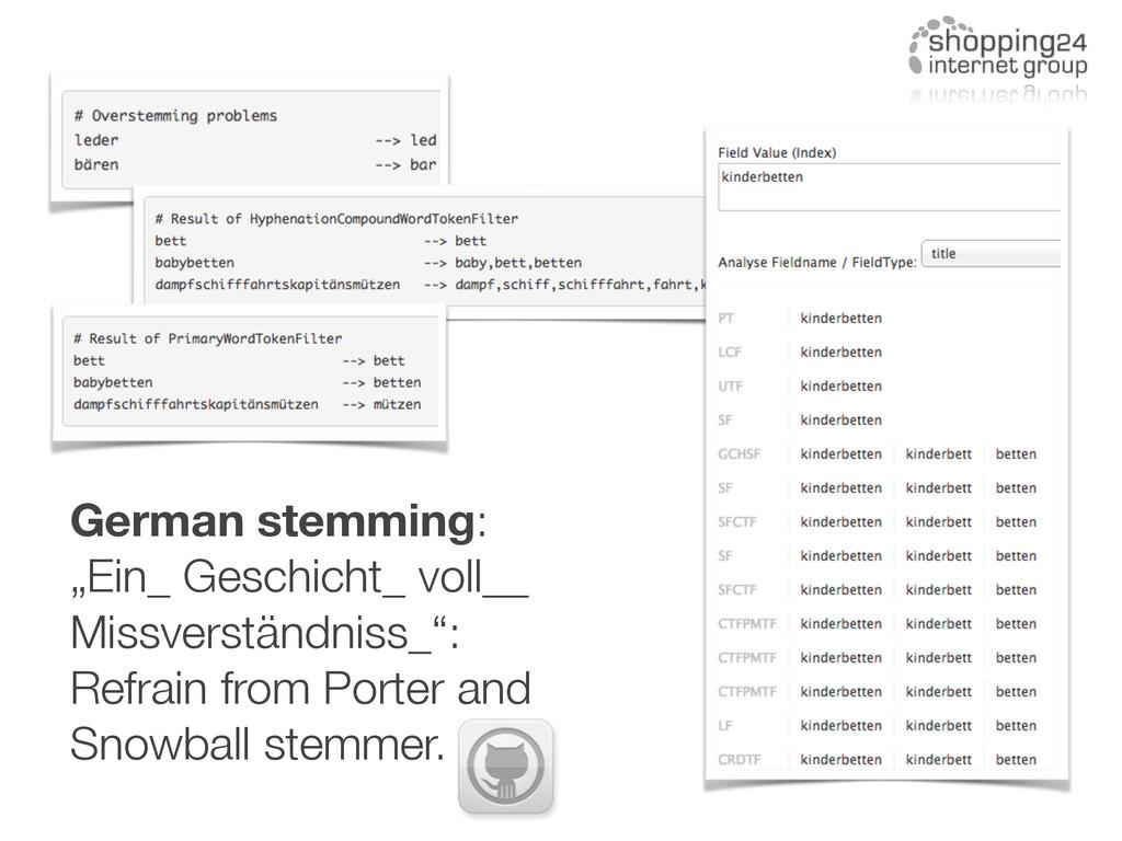 """German stemming: """"Ein_ Geschicht_ voll__ Missve..."""