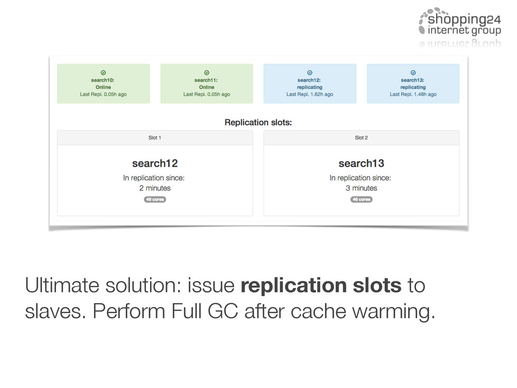 Ultimate solution: issue replication slots to s...