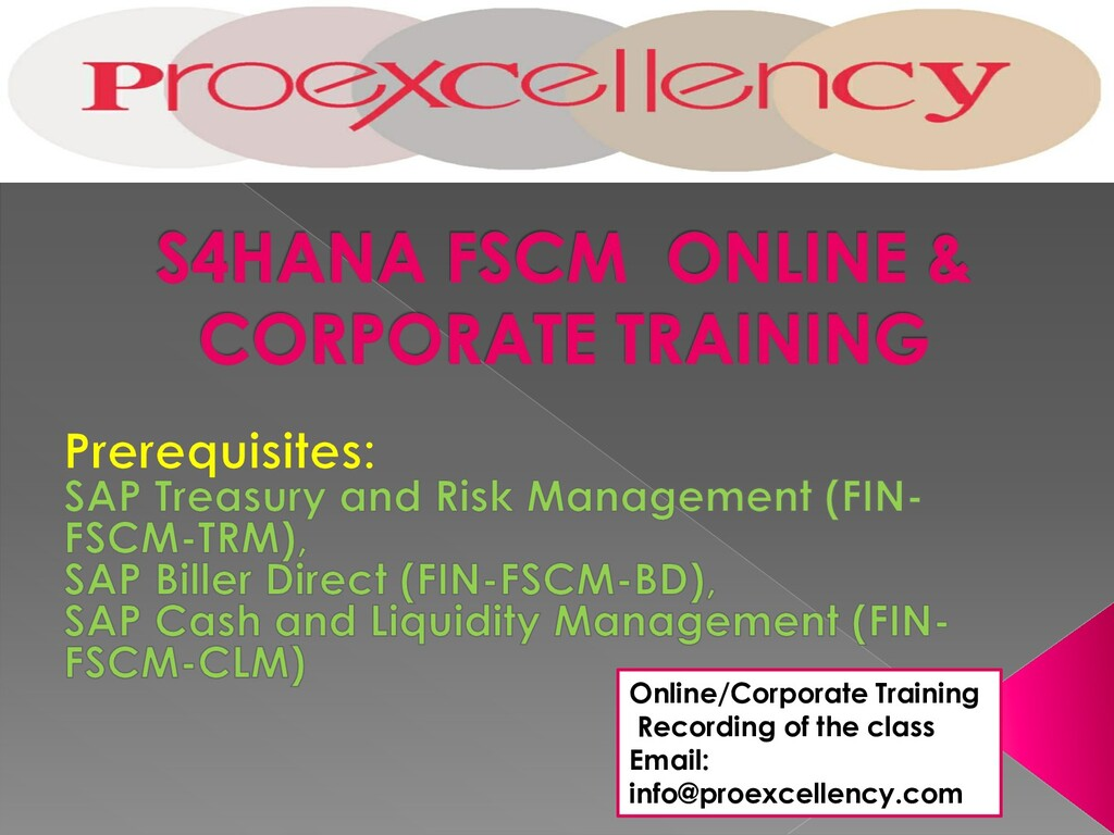 Online/Corporate Training Recording of the clas...