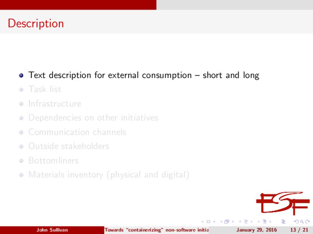 Description Text description for external consu...