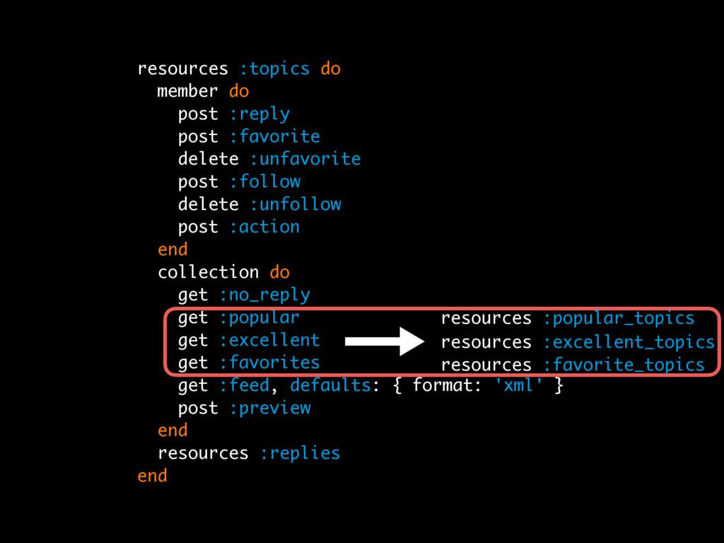 r resources :topics do member do post :reply po...