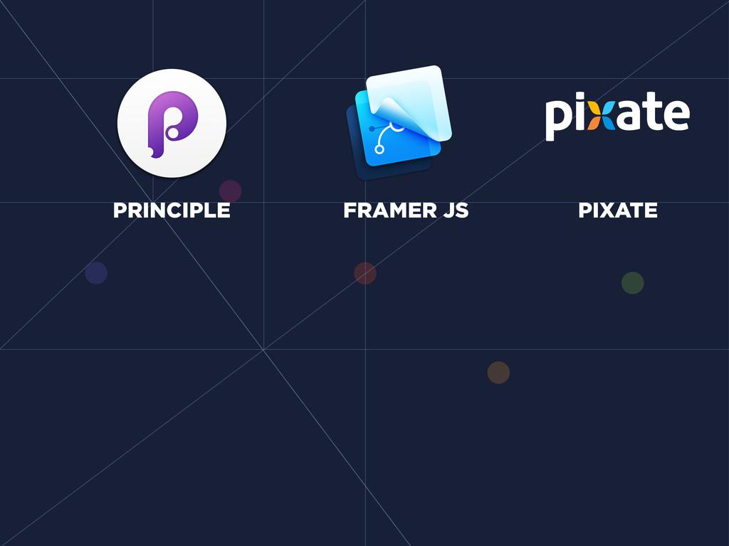 PRINCIPLE FRAMER JS PIXATE