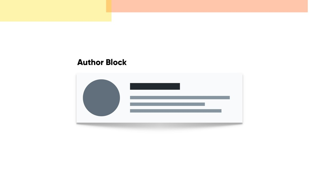 Author Block