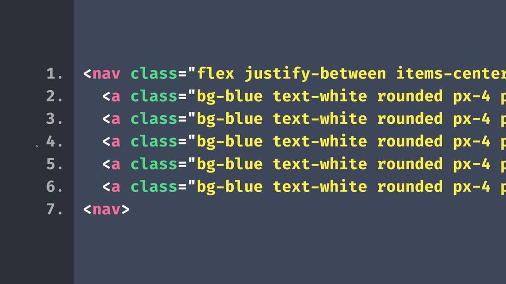 """¸ <nav class=""""flex justify-between items-center..."""