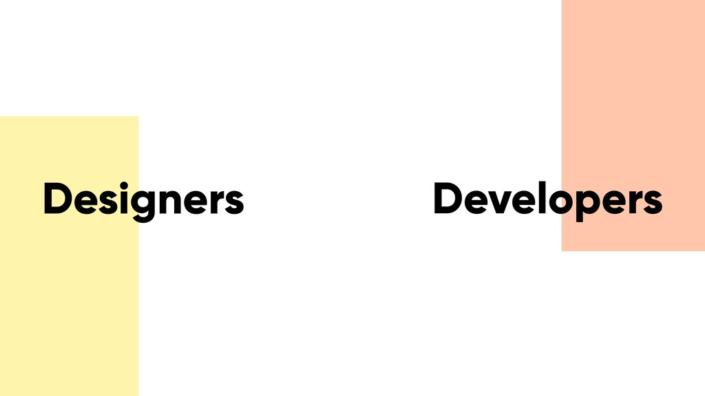 Designers Developers