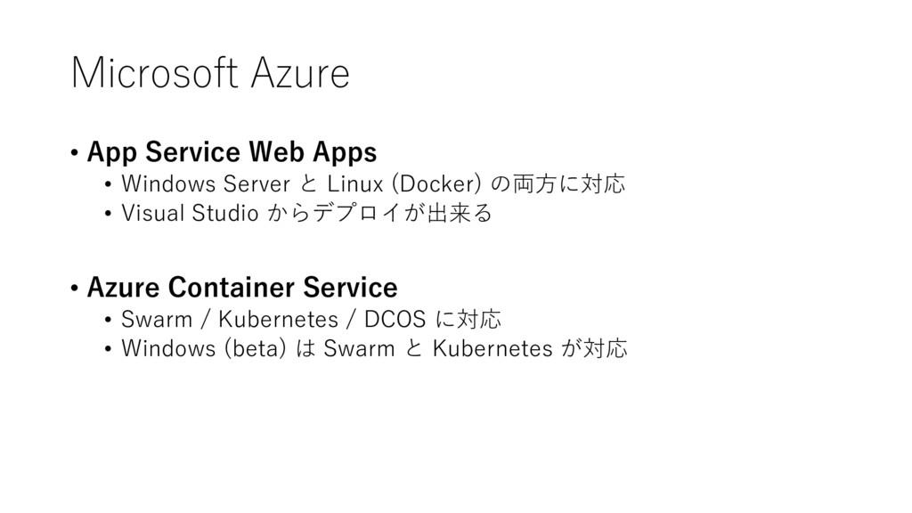 Microsoft Azure • App Service Web Apps • Window...
