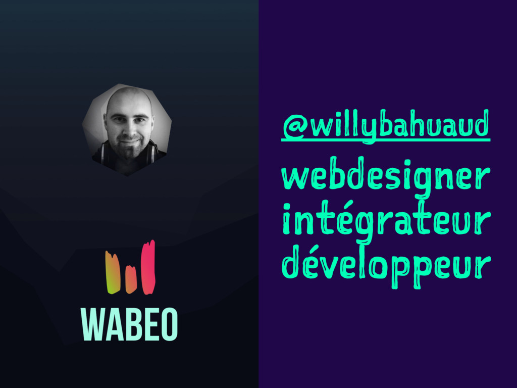 @willybahuaud webdesigner intégrateur développe...