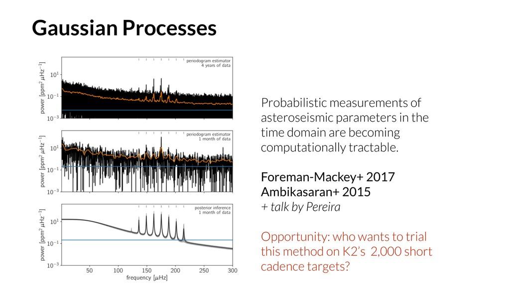 Probabilistic measurements of asteroseismic par...