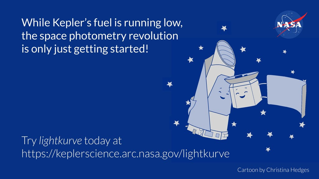 While Kepler's fuel is running low, the space p...