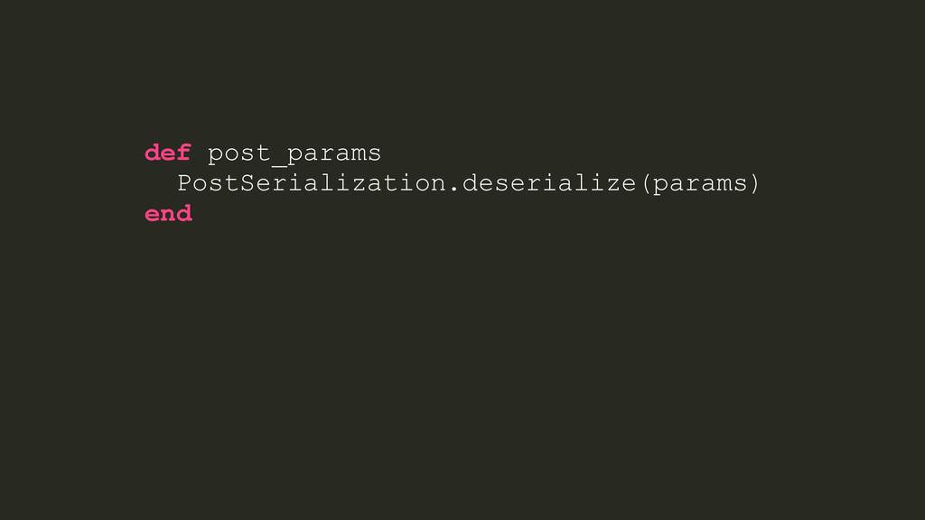@post = Post.create(post_params) render json: @...
