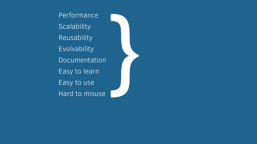 Performance Scalability Reusability Evolvabilit...