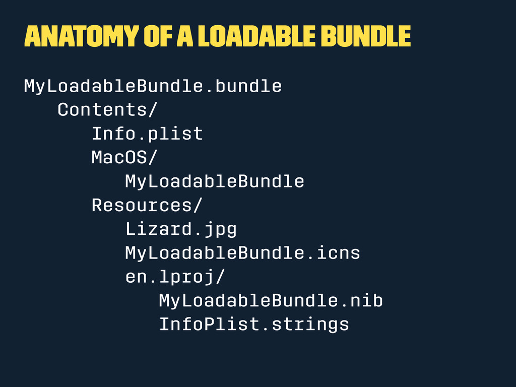 Anatomy of a Loadable Bundle MyLoadableBundle.b...