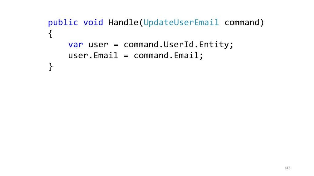 142 public void Handle(UpdateUserEmail command)...