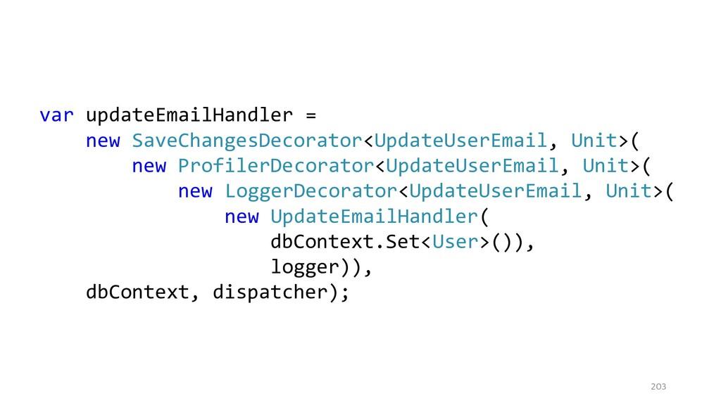 203 var updateEmailHandler = new SaveChangesDec...