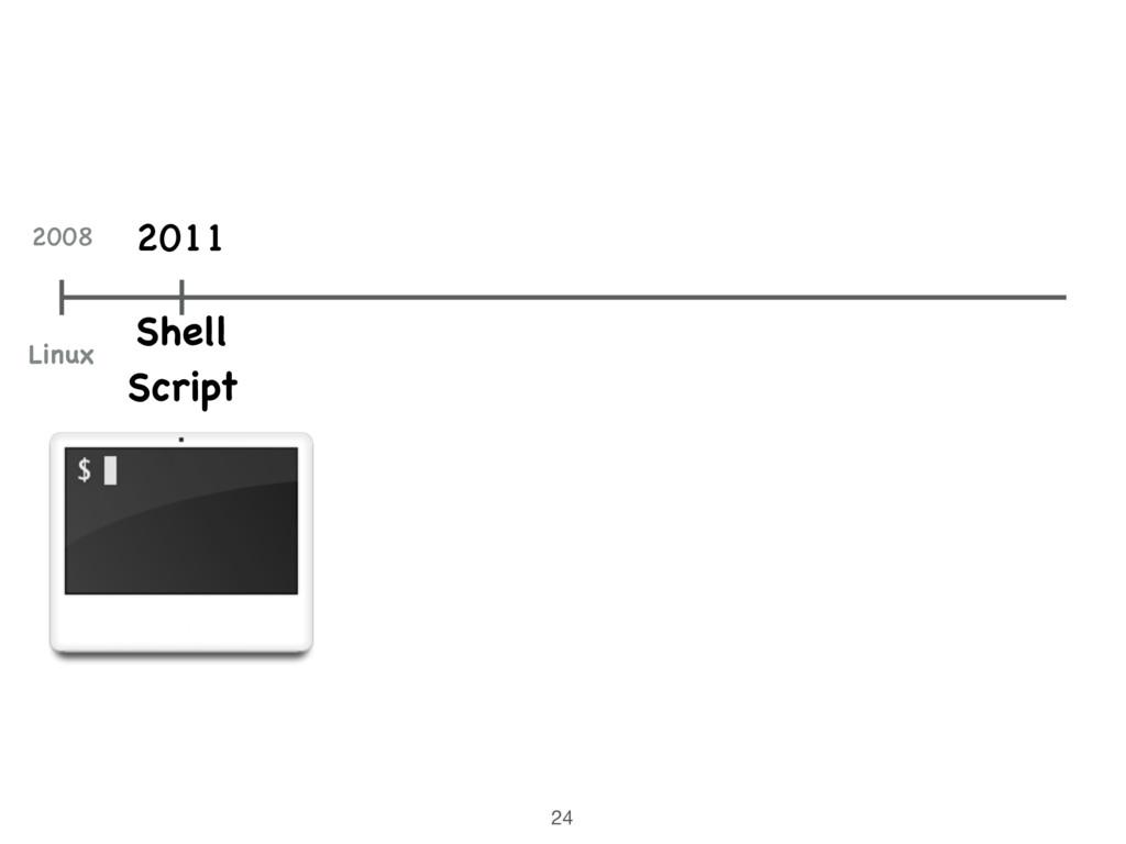 24 Shell Script 2011 2008 Linux